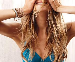 Behati Prinsloo, smile, and blond image