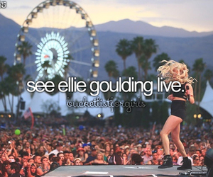 Ellie Goulding, singer, and bucketlist image