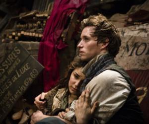 les miserables, marius, and movie image