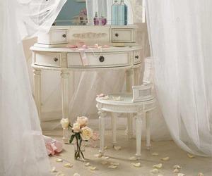 white, pretty, and vanity image