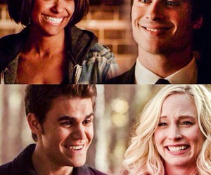 smile, the vampire diaries, and tvd image