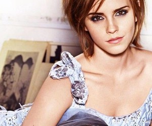 brown, emma watson, and eyes image