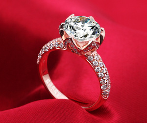 accessories, diamond ring, and fashion image