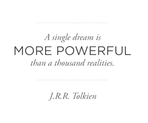 Dream, reality, and Powerful image