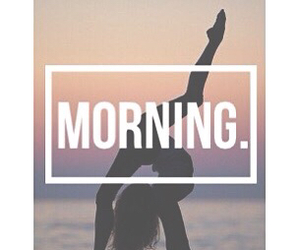 fitness and morning image