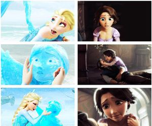 frozen, disney, and tangled image