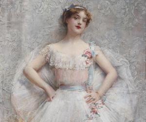 pastel, tableau, and leon françois comerre image
