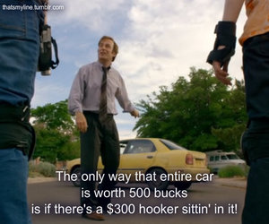 hooker, better call saul, and 500 bucks image
