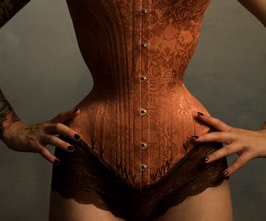 burlesque and corset image