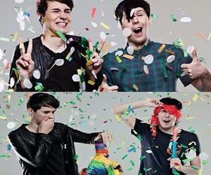 confetti, pinata, and amazingphil image