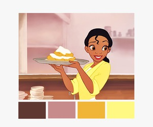 color palette, princess and the frog, and disney image
