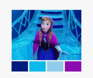 anna, color palette, and disney image