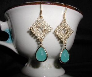 earrings, gold earrings, and jewelry image