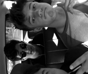 b&w, nash grier, and snapchat image