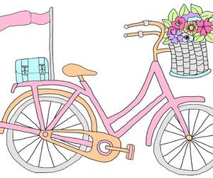 bicycle, bike, and tumblr image