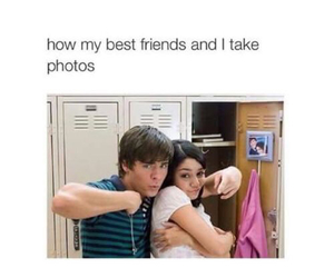 funny, zac efron, and friends image
