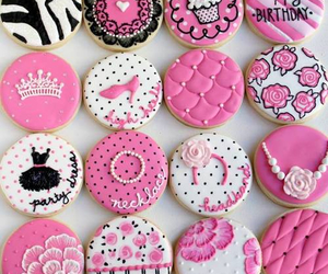 Cookies, delicious, and pink image