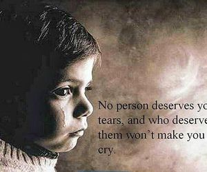quote, sad, and tears image