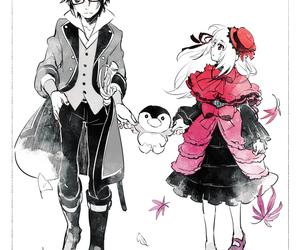anime, anime boy and girl, and k project image