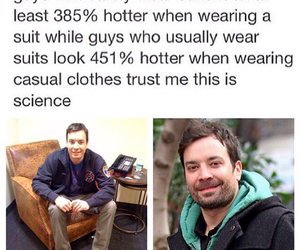 funny, Hot, and jimmy fallon image