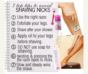 beauty tips and tips to shaving image