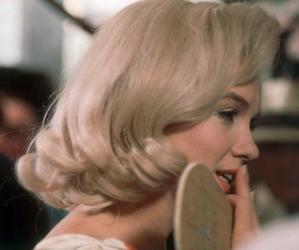 Marilyn Monroe, blonde, and girl image