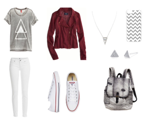 ae, converse, and teen fashion image