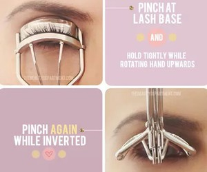 makeup, diy, and eyelashes image