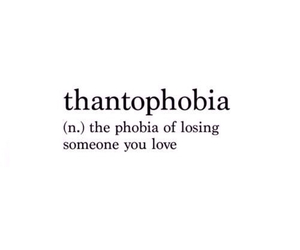 love, phobia, and quotes image