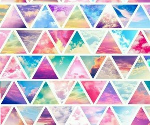 wallpaper, background, and triangle image