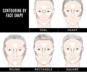 makeup, face, and contouring image