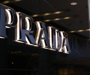 Prada, luxury, and black image