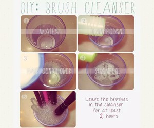 Brushes, diy, and tutorial image