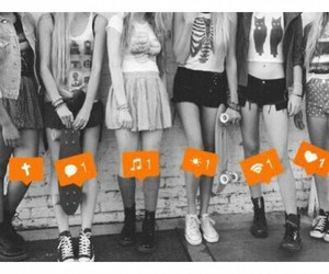 girl and friends image