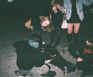 grunge, friends, and party image