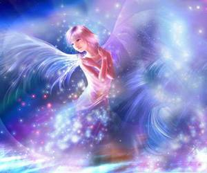 angel, fairy, and fantasy image