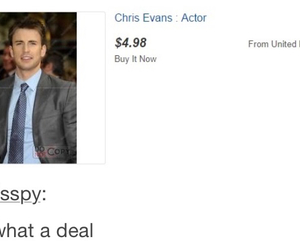 chris evans, lol, and funny image