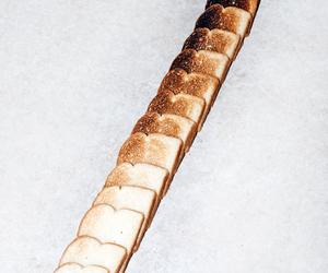 bread, toast, and food image