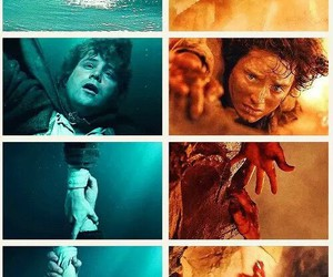 the lord of the rings, frodo baggins, and samwise gamgee image