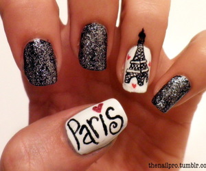 adorable, glitter, and nail art image