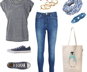 blue, confortable, and converse image