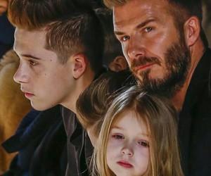 David Beckham, brooklyn beckham, and boy image