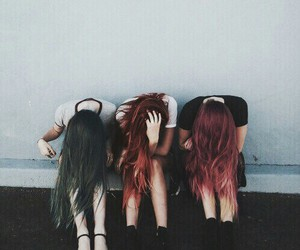 crazy, girls, and friends image