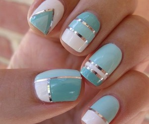 glam, manicure, and nails image