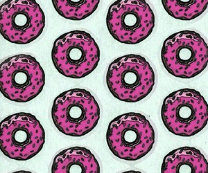boys, donut, and donuts image