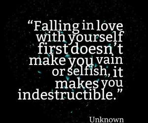 love, yourself, and indestructible image
