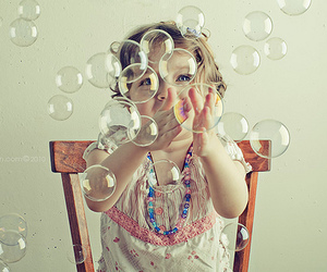 bubbles, baby, and child image