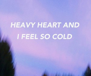 cold, grunge, and heart image