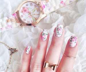 nails, watch, and beautiful image