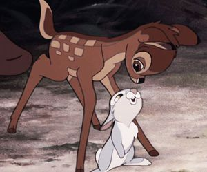 bambi, disney, and theme image